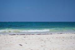 Playa Ribera Maya Royalty-vrije Stock Foto's