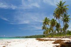 Playa Rincon, la Repubblica dominicana Fotografia Stock