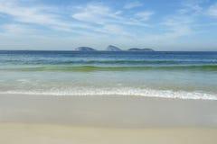 Playa Rio de Janeiro Brazil Scenic de Ipanema Fotografía de archivo libre de regalías