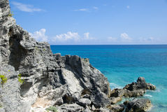 Playa rocosa Imagen de archivo libre de regalías