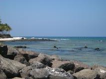 Playa rocosa Fotografía de archivo libre de regalías