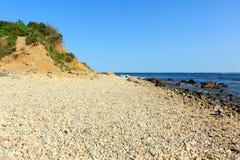 Playa rocosa Foto de archivo