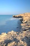Playa rocosa del desierto Fotografía de archivo