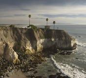 Playa rocosa del shell de la costa Fotografía de archivo
