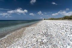 Playa Rodas de Ialysos Fotografía de archivo libre de regalías