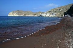 Playa roja imagen de archivo libre de regalías