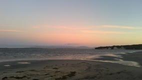 Playa rosada Fotografía de archivo libre de regalías