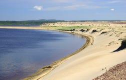 Playa salvaje Imagen de archivo libre de regalías