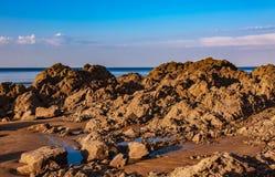 Playa salvaje foto de archivo libre de regalías
