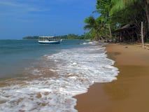 Playa salvaje Imágenes de archivo libres de regalías
