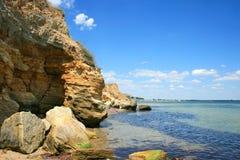 Playa salvaje Fotografía de archivo