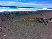 Playa salvaje Foto de archivo