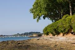 Playa salvaje - Bretaña fotografía de archivo
