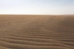 Playa salvaje y duna de arena asombrosa en el La Guajira, Colombia Fotos de archivo