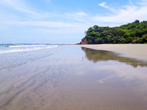 Playa Samara στη Κόστα Ρίκα Στοκ Φωτογραφίες