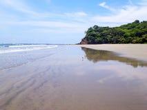 Playa Samara i Costa Rica Arkivfoton