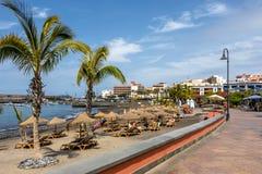 Playa San Juan Tenerife Stockbild