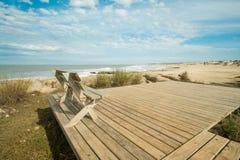 Playa Scenic Punta del Diablo Fotografía de archivo libre de regalías