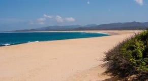 Playa sin fin Fotos de archivo libres de regalías