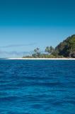 Playa sin tocar Imagen de archivo libre de regalías