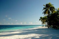 Playa sola Imagen de archivo libre de regalías