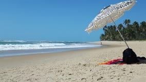 Playa sola Foto de archivo libre de regalías