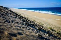 Playa sola, Portugal Fotografía de archivo