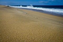 Playa sola, Portugal Imagenes de archivo