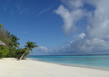Playa solar Imagen de archivo libre de regalías