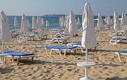 Playa soleada, Bulgaria imagen de archivo libre de regalías