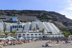 Playa soleada en Taurito Imagen de archivo