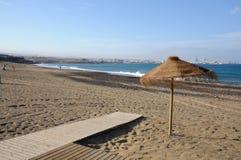 playa spain för blanca fuerteventura Arkivfoton