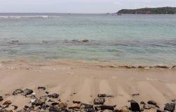 Playa srilanquesa del mar en Asia foto de archivo