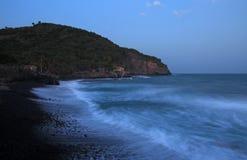 Playa strand El Zonte, El Salvador Royaltyfri Foto