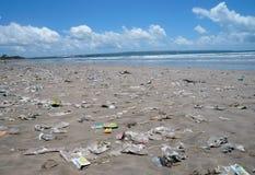 Playa sucia Fotos de archivo libres de regalías