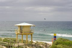 Playa Sydney Australia de Elouera. Foto de archivo