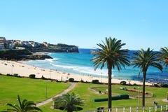 Playa Sydney de Bronte fotografía de archivo libre de regalías