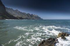 Playa Taganana特内里费岛 免版税库存图片