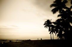 Playa Tailandia de Hua Hin Fotografía de archivo