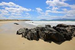 Playa tasmana Foto de archivo