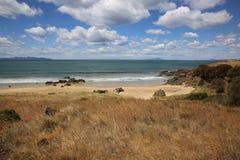 Playa tasmana Imagen de archivo libre de regalías