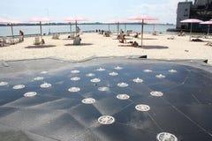 Playa Toronto, Canadá de Suger Fotografía de archivo libre de regalías