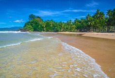 Playa tranquila Foto de archivo
