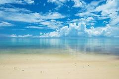 Playa tranquila de ARAGUSUKU, Okinawa Prefecture /Japan Foto de archivo