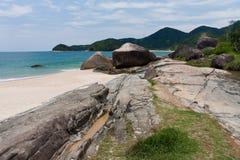 Playa Trindade Rio de Janeiro de Cepilho Imagenes de archivo