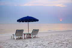 Playa tropical Imágenes de archivo libres de regalías