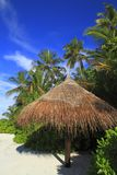 Playa tropical Foto de archivo libre de regalías