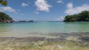 Playa tropical almacen de metraje de vídeo