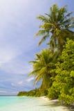 Playa tropical asombrosa Imagen de archivo libre de regalías