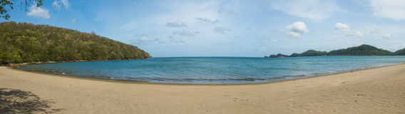 Playa. Tropical beach in northern Costa Rica Royalty Free Stock Images